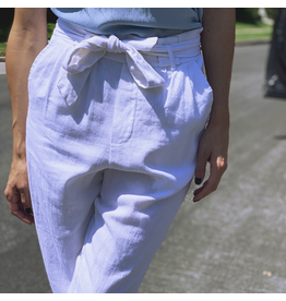 Bow Tie Linen Pants