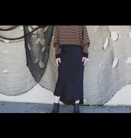 Saint Claire Slip Midi Skirt