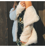 Shaggy Faux Fur Jacket