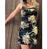 Round Abouts Rouched Dress