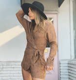 Ditzy Animal Wrap Romper