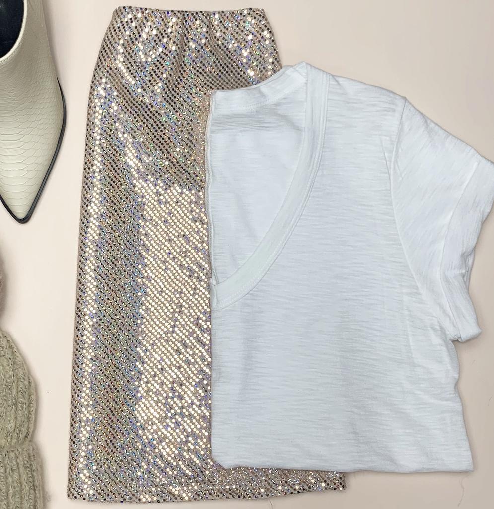 Disco Night Mini Skirt