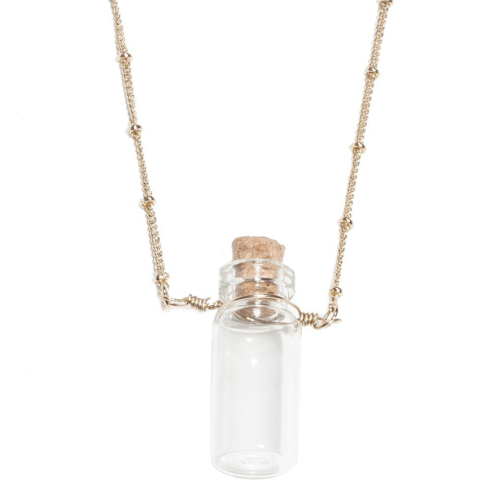 Trust Me I'm Normal Bottle Necklace