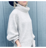 Heather Turtle Neck Sweater