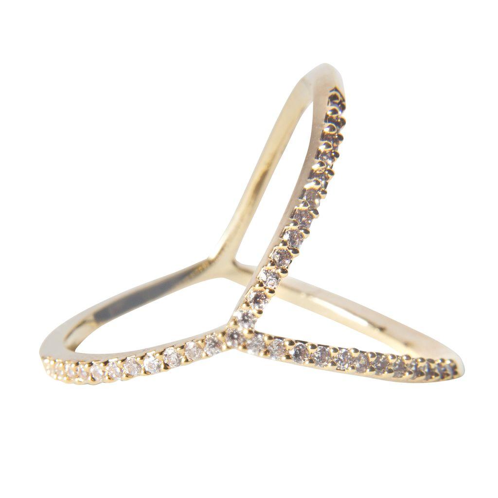 Jewel Trim Y Ring