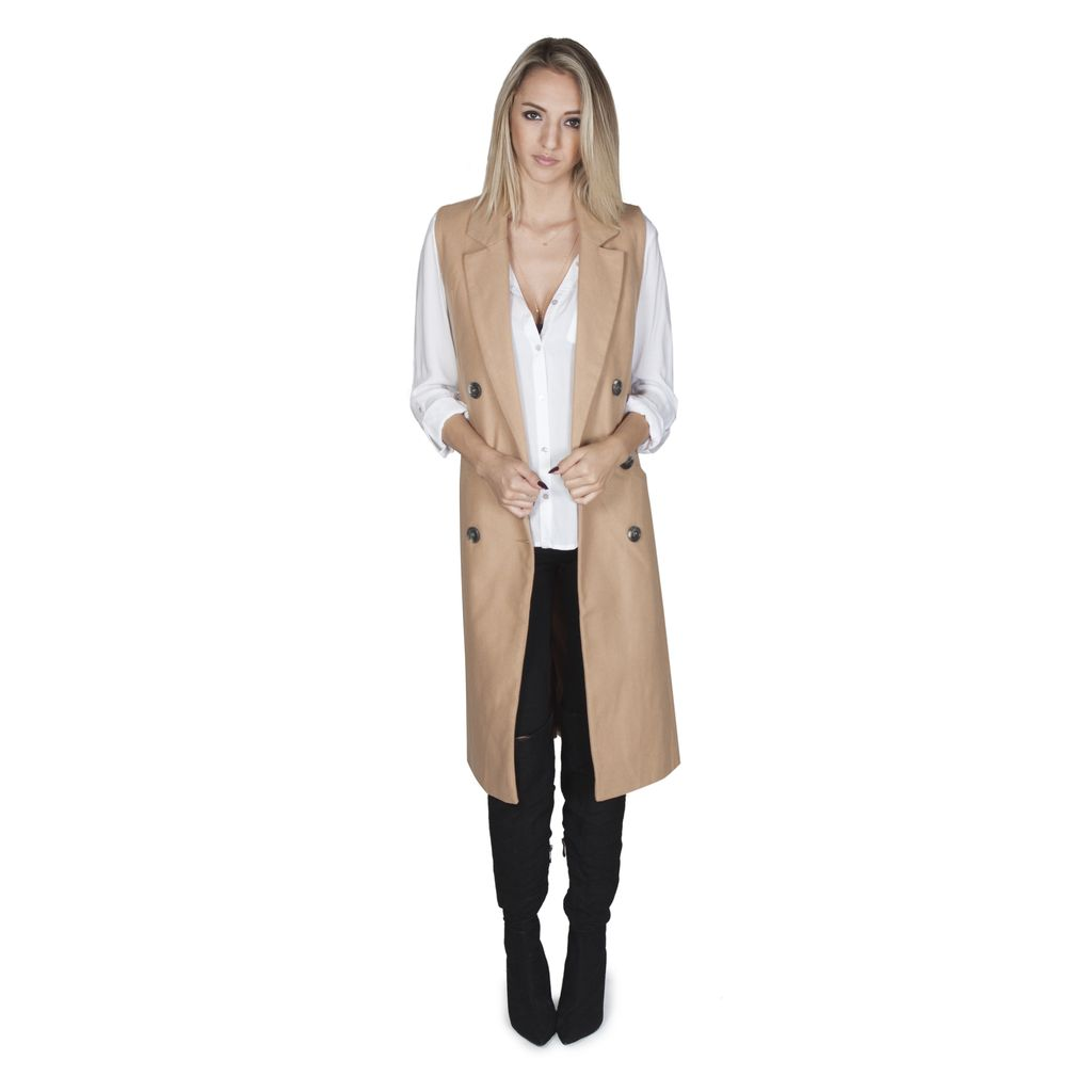 Broklyn Trench Coat Vest