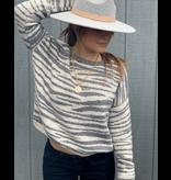 Zebra Lines Sweater