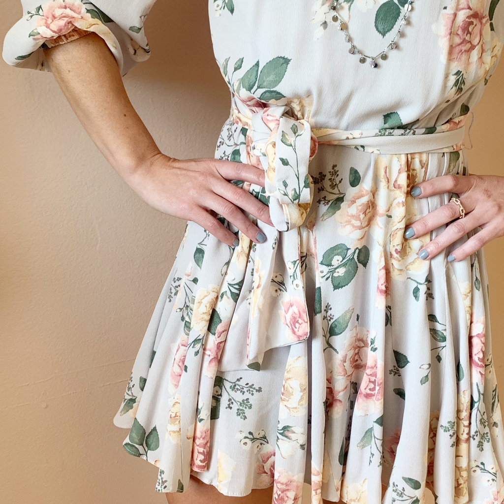 Garden Party Frill Dress