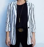 Liza Stripe Blazer