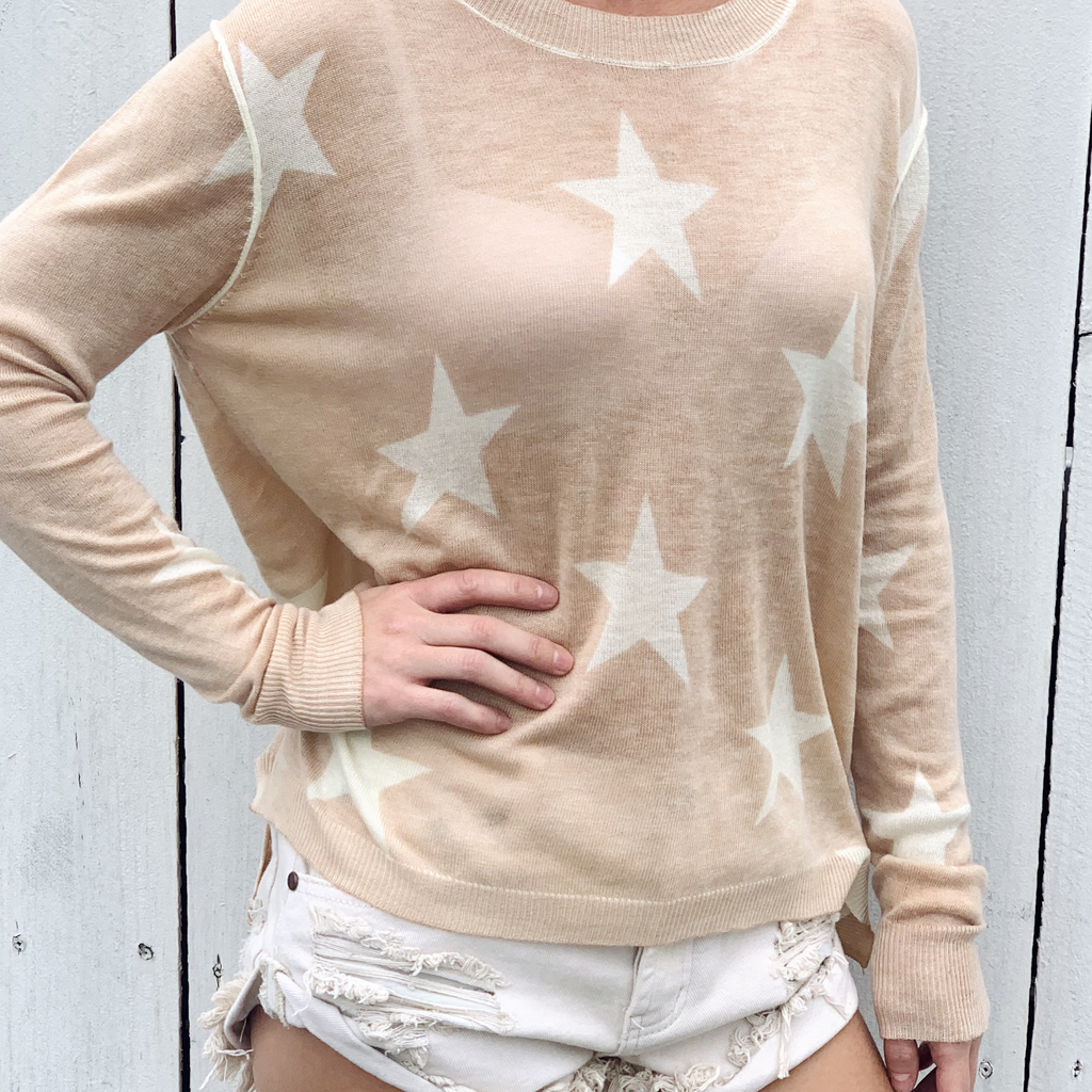 Zipper Star Pullover