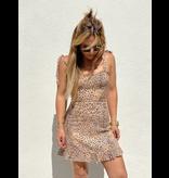 Animal Style Ruffle Dress