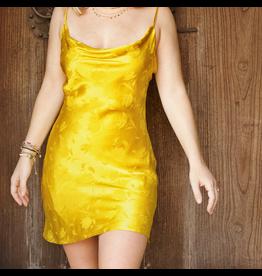 Rose of Eden Satin Cowel Dress