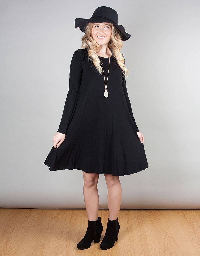 5df1552bd54 Long Sleeve Shift Dress - Rose   Sage