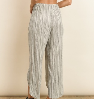 Open Slit Pants