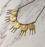 Geometric Aztec Necklace
