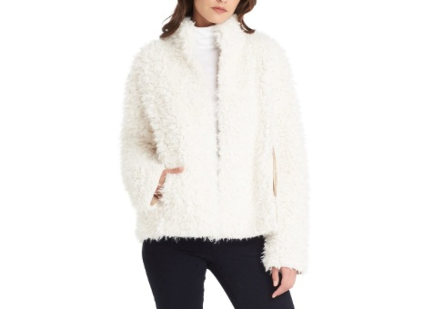 Teddy Fur Reversible Coat