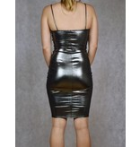 Madison Metallic Midi Dress