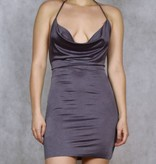 Slinky Cowl Dress