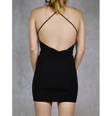 Rylie Knot Twist Mini Dress