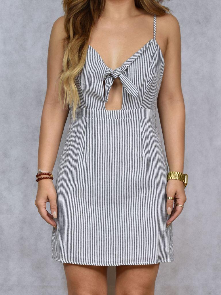 Alexis Front Tie Dress