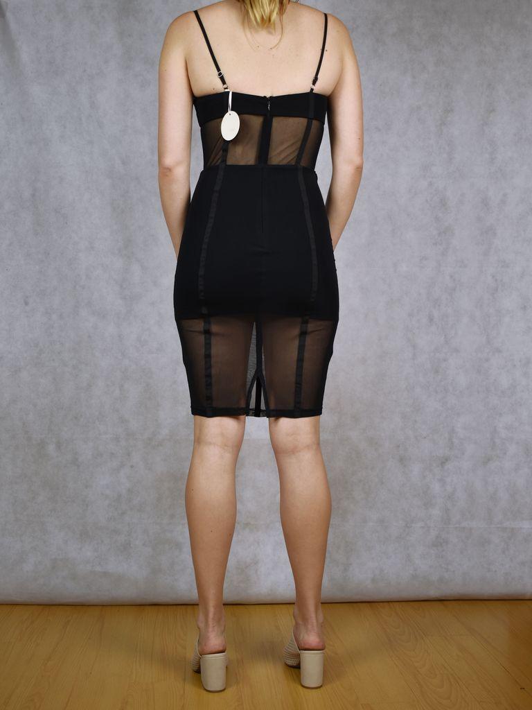 Mesh Bodycon Dress