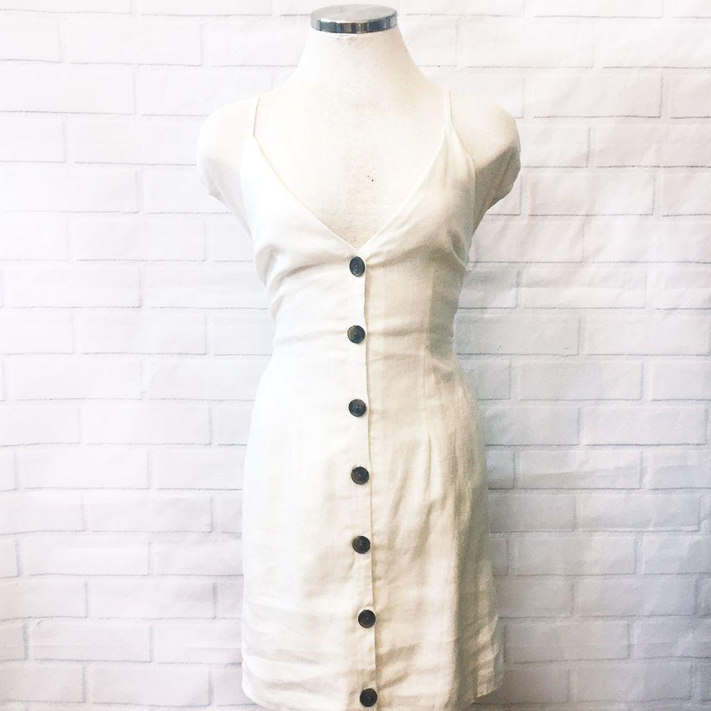 Kennedy Button Dress