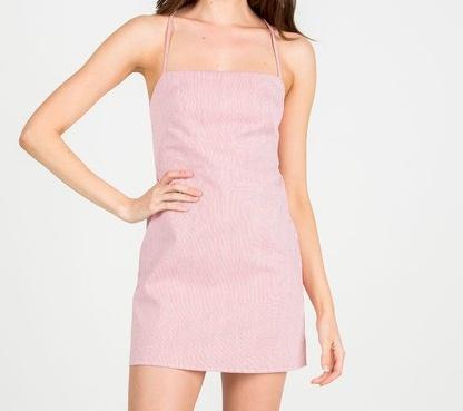 Stripe Spangal Dress