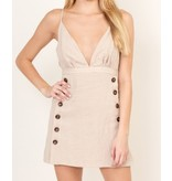 Karr Button Dress