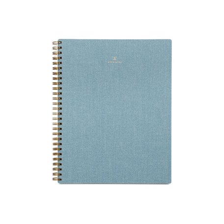 Lined Notebook -Chambray Blue