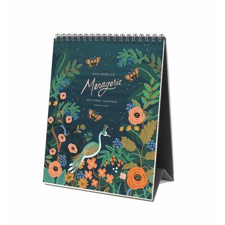 2019 Midnight Menagerie Desk Calendar