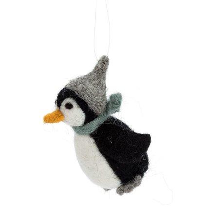 Little Penguin in Hat Ornament
