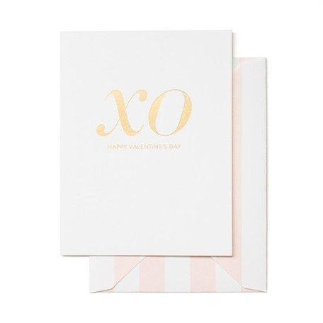 XO Valentine Card