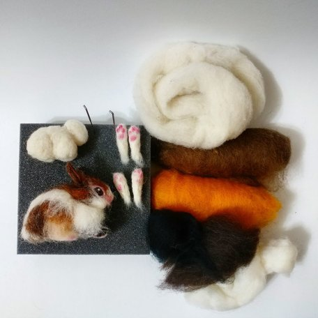 BUNNIES -Needle Felting Workshop with Warm &amp; Drift<br /> Sunday April 14
