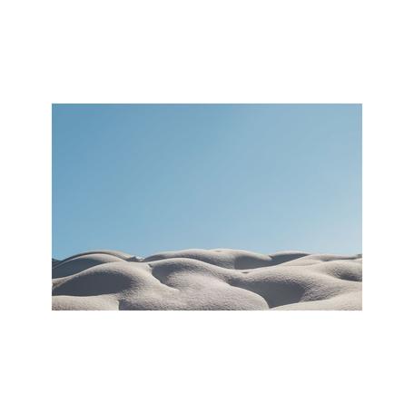 Snow Dunes Print, Whistler 8x10