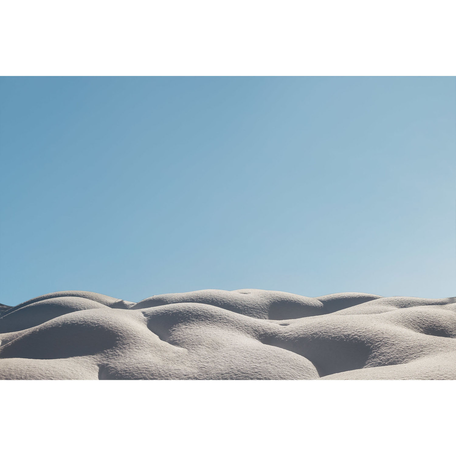 Snow Dunes Print, Whistler 24x36