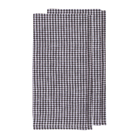 Washed Linen Napkin S/2 -Gingham