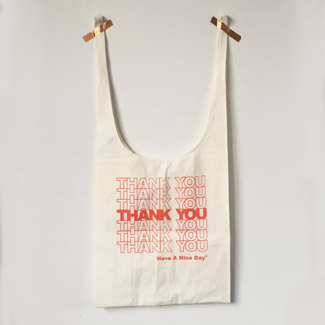 Gratitude Grocery Bags -Thank You Thank You