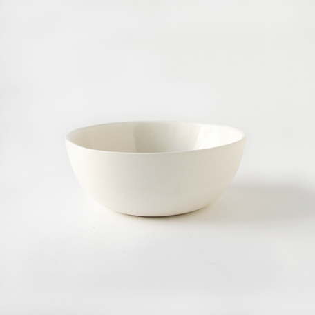 "7"" Sharing Bowl -White Porcelain"