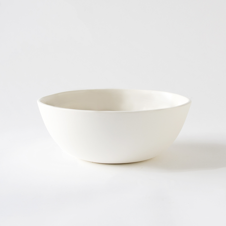"9"" Sharing Bowl -White Porcelain"