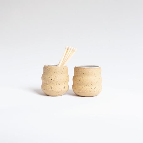 Matchstick Holder, Ceramic