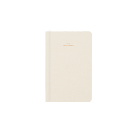 2019-2020 Daily Planner -Natural Linen