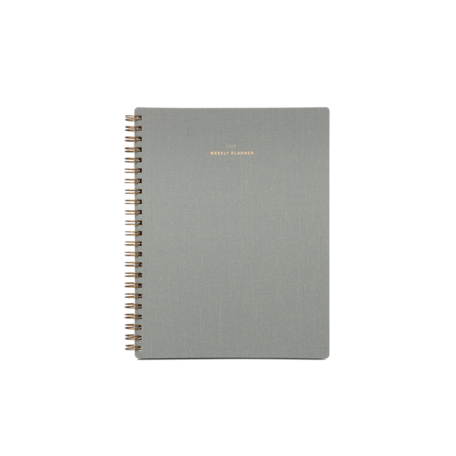 2019-2020 Weekly Planner -Dove Grey