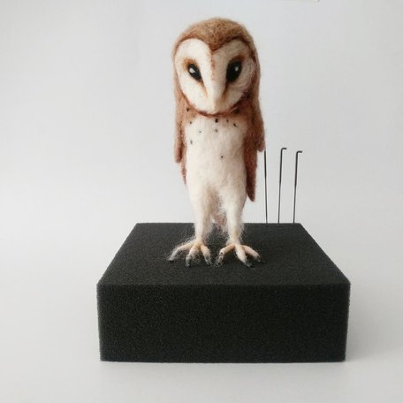 OWL II -Needle Felting Workshop with Warm & DriftSunday Sept 15