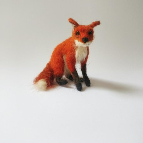FOX -Needle Felting Workshop with Warm & DriftSunday Nov 3