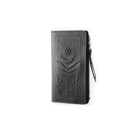 Night Safari Long Wallet -Black
