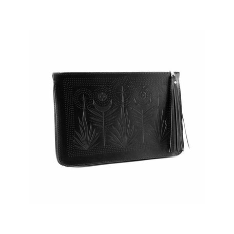 Night Safari Clutch -Black