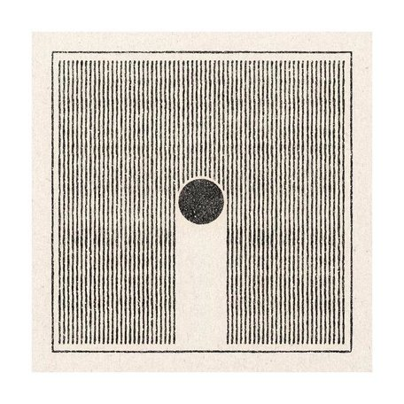 Lines/Circles Print -11x11