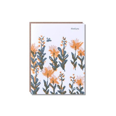 Flower Bee Thank You Card Box/6