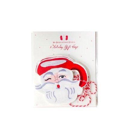 Diecut Santa Mug Gift Tags/4