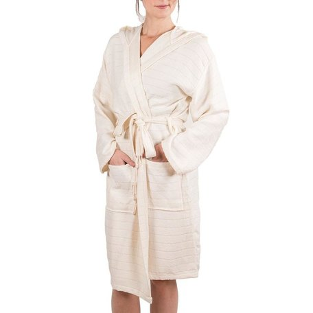 Bamboo Robe M/L-Cream